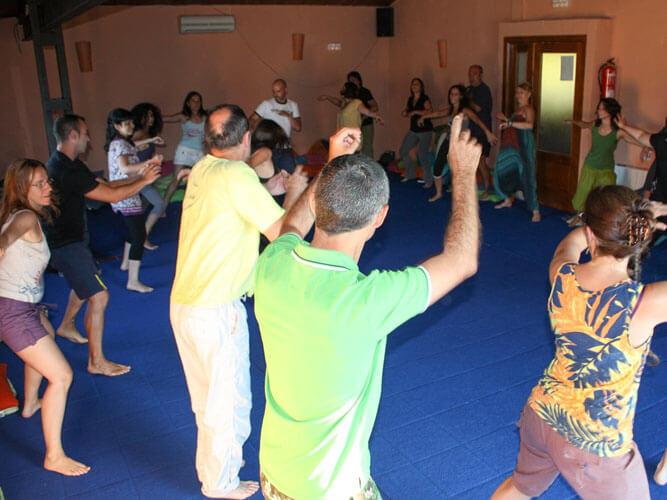 fotos vacaciones biodanza grupo baile