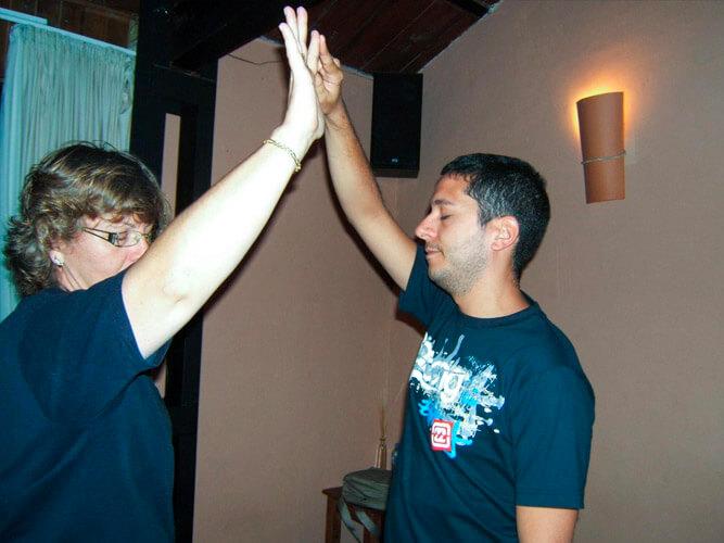 fotografía de desarrollo personal unidos manos