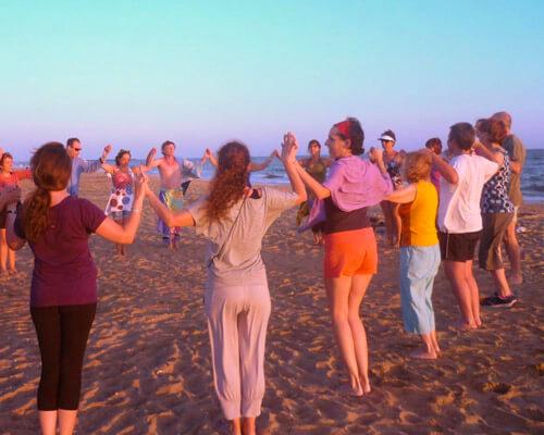 fotos vacaciones alternativa playa grupo