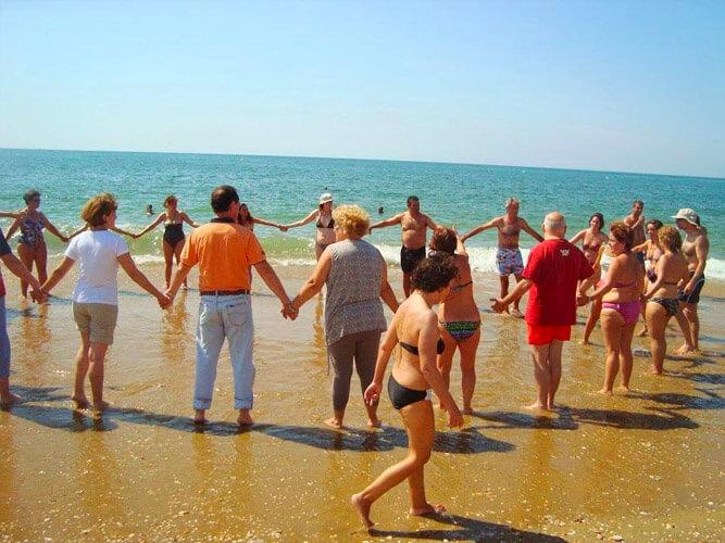 fotos vacaciones alternativas playa circulo