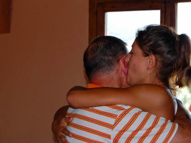fotos vacaciones y ocio inteligente besos