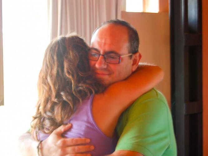 fotos vacaciones y ocio inteligente pareja