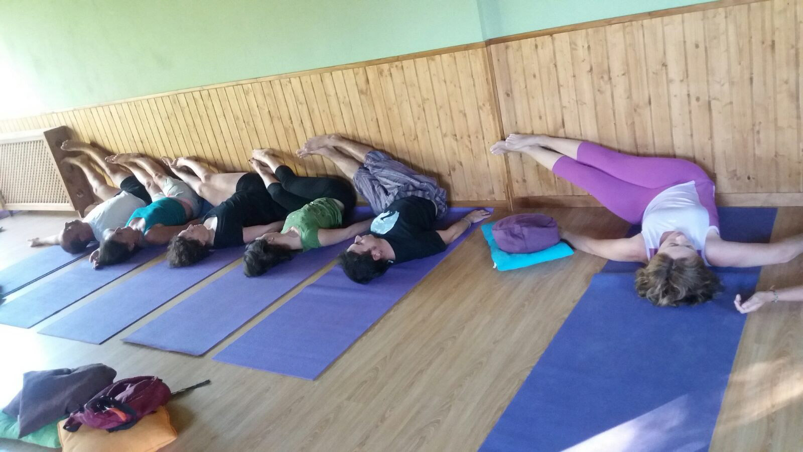 Vacaciones en Gredos alternativas Yoga